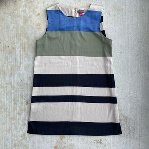 Vince Camuto Silky Stripped Dress
